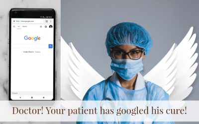 Doctor! Your patient has googled his cure!